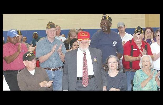 He survived Iwo Jima
