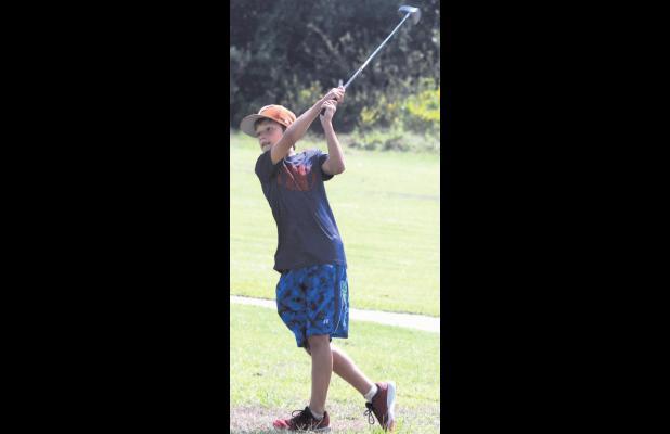 RJH golfers tee off Tuesday