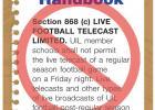 UIL lifts broadcast ban for 2020 football season