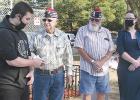 Tribute, memorial ceremony at Veterans Park