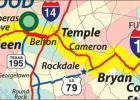 Map courtesy Gulf Coast Strategic Highway Coalition